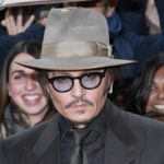 Johnny Depp on the red carpet
