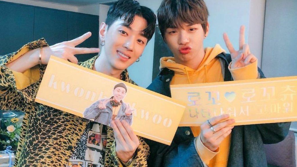 Kang Daniel and Zico