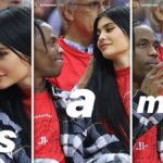"Kylie Jenner uploads three cosy throwback pics of her and Travis Scott to her Instagram story at the weekend, captioning them ""Its. A. Mood."" Pic credit: @kyliejenner/Instagram"