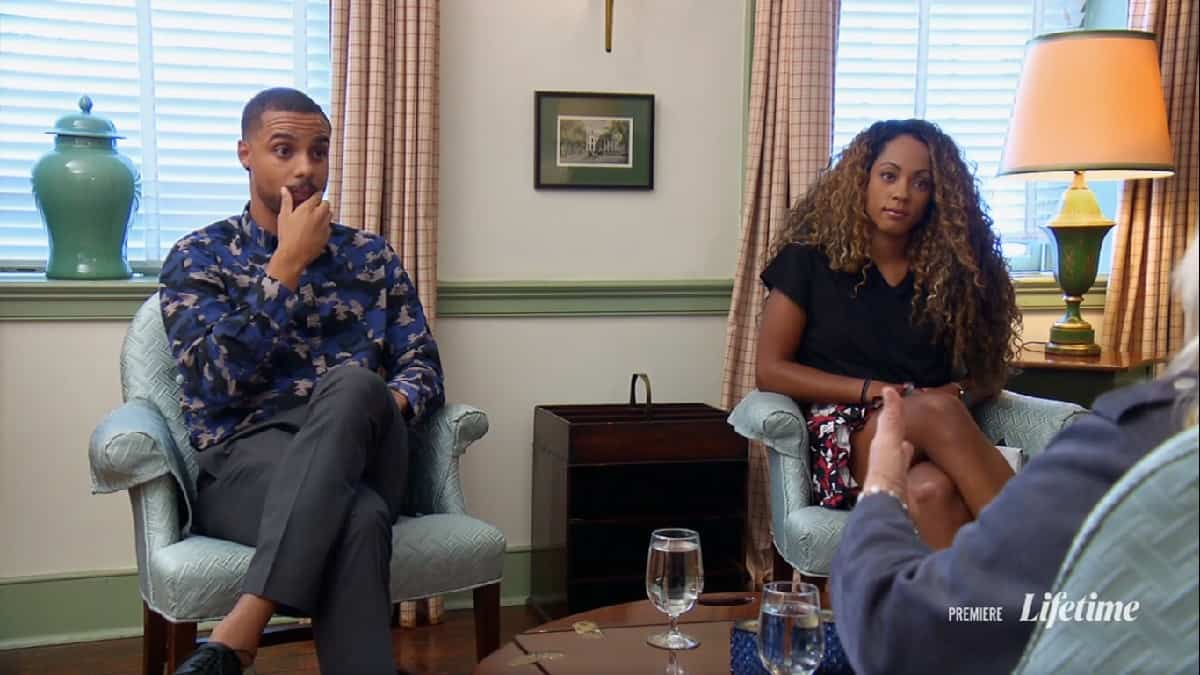 Married at First Sight Taylor and Brandon fail at mediation with Dr. Pepper