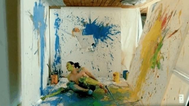 messy painter