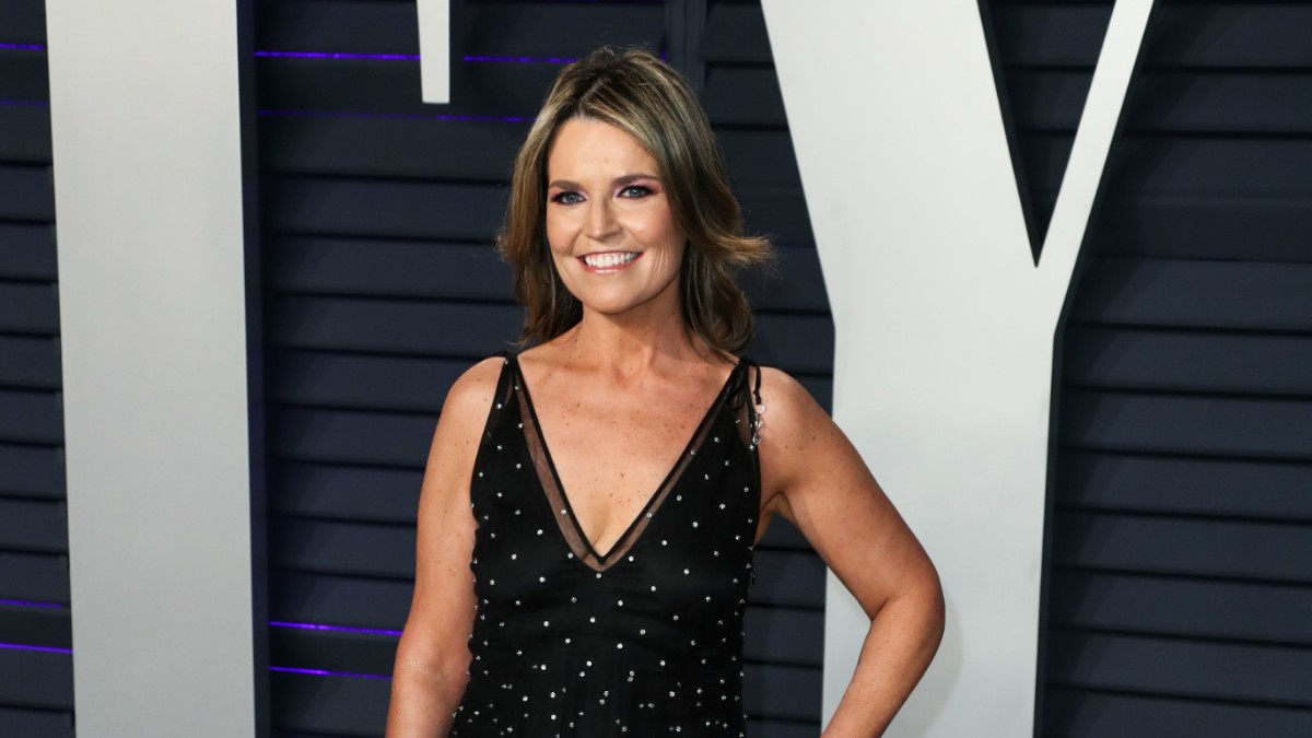 Savannah Guthrie on the red carpet