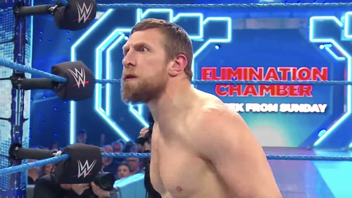 wwe elimination chamber 2020 match card daniel bryan and tag team chamber updates