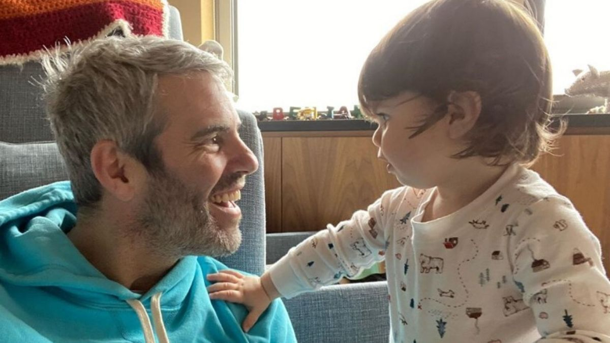Andy Cohen and son Ben