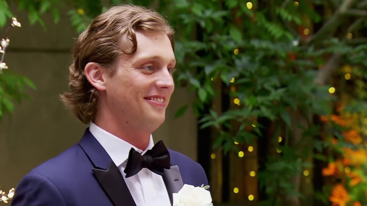 Austin on Season 10 of Married at First Sight