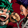 Hitoshi Shinso and Izuku Midoriya in My Hero Academia
