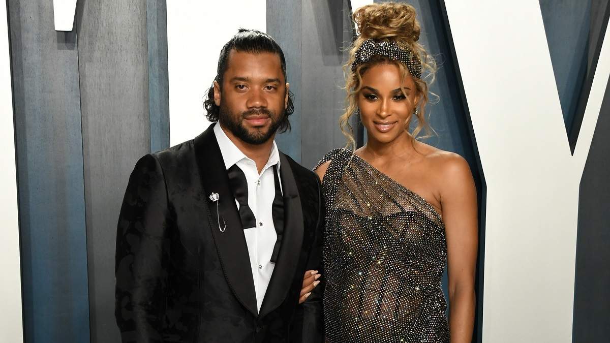 Ciara and husband Russell Wilson