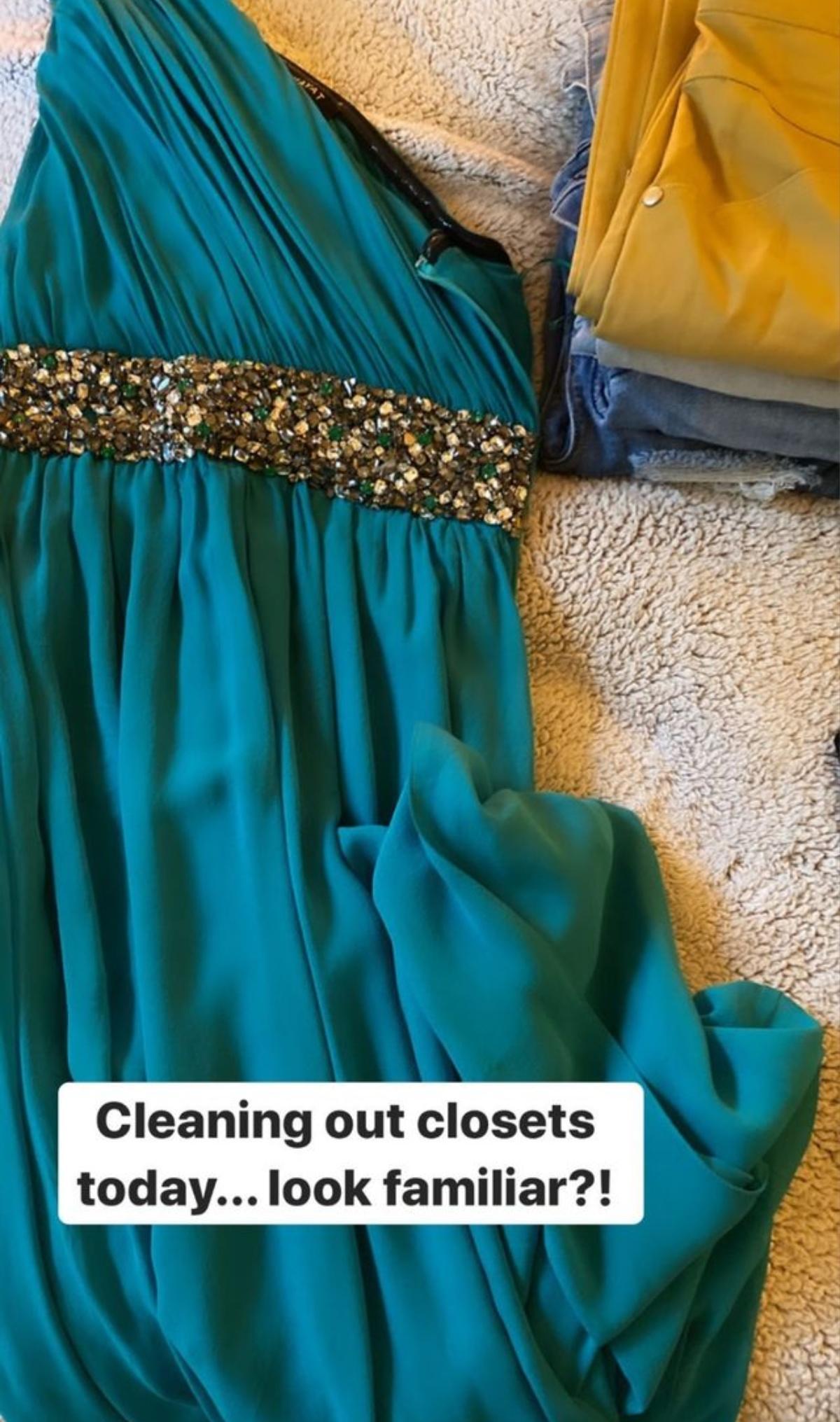 Clare's dress