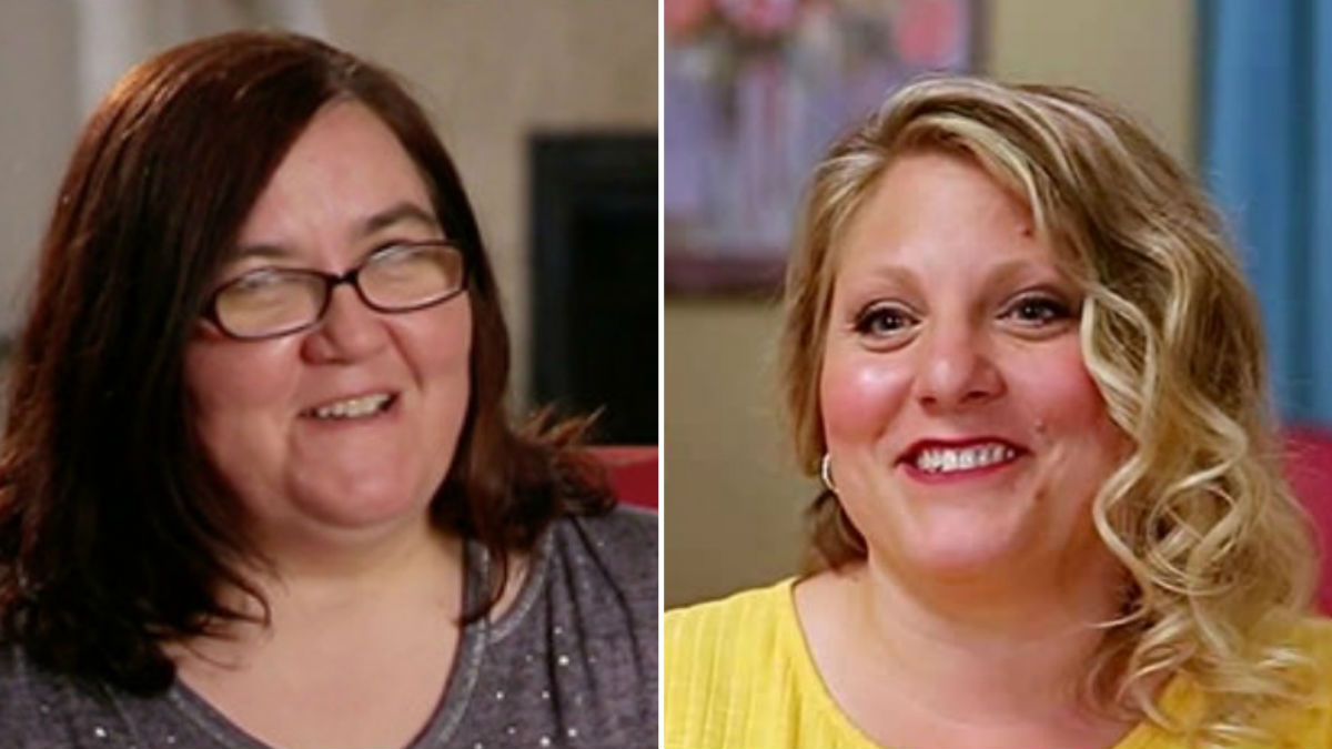 90 Day Fiance stars Danielle Jbali and Anna Campisi feuding.
