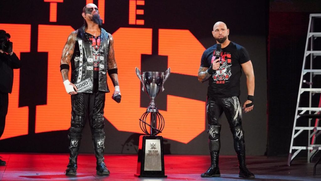 WWE releases Luke Gallows and Karl Anderson from contracts