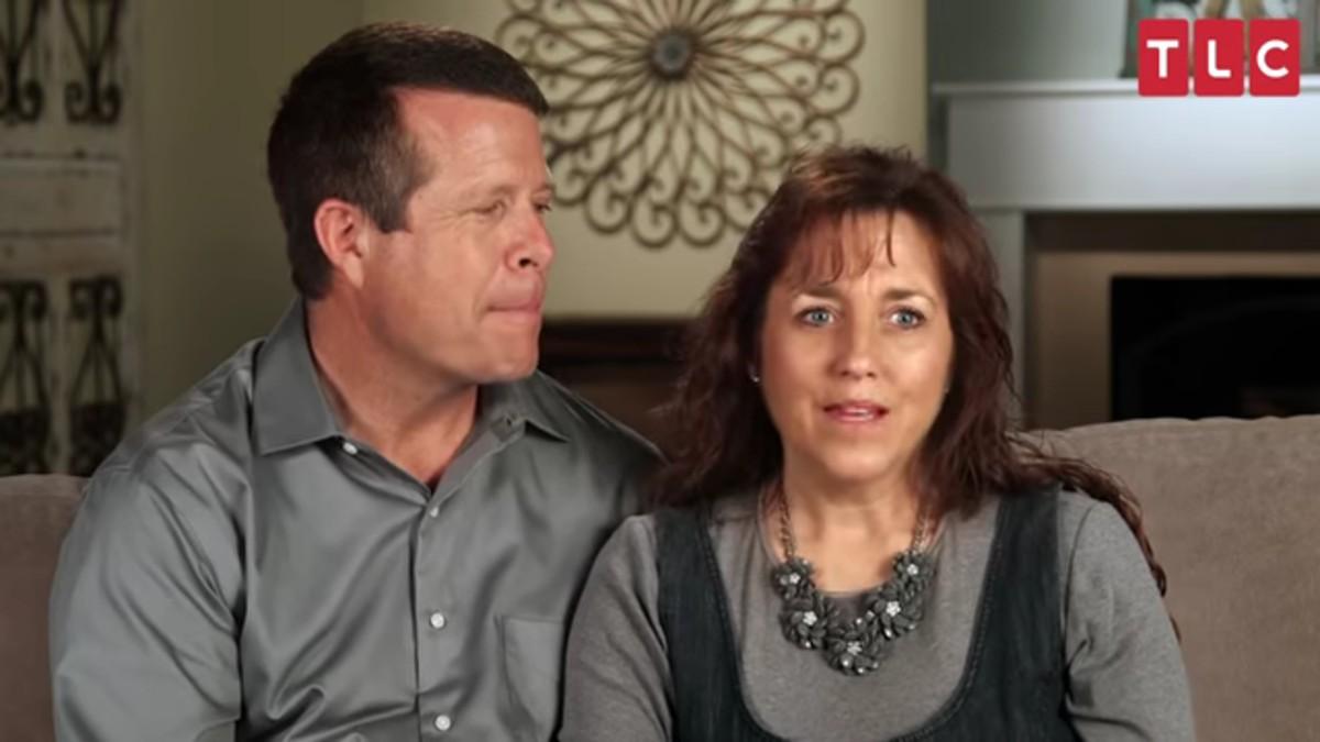Jim Bob and Michelle Duggar in a TLC confessional.