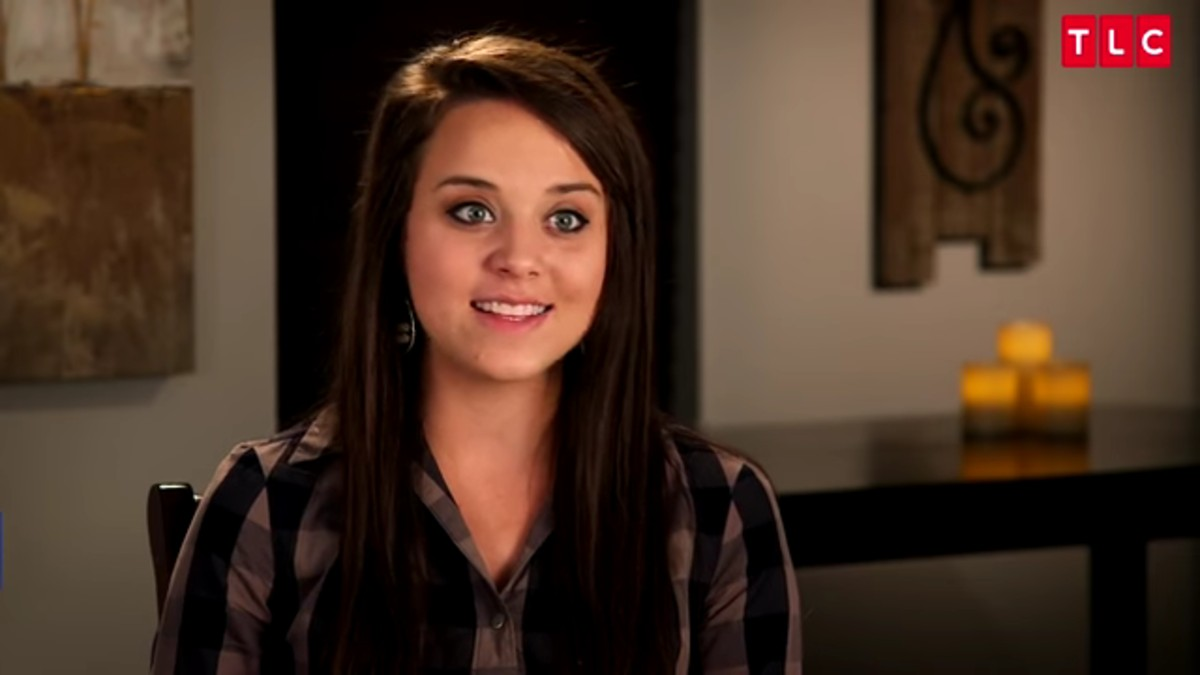 Jinger Duggar in a Counting On confessional.
