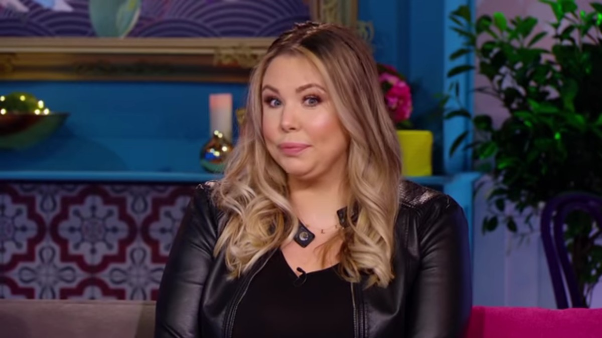 Kailyn Lowry at the Teen Mom 2 reunion.