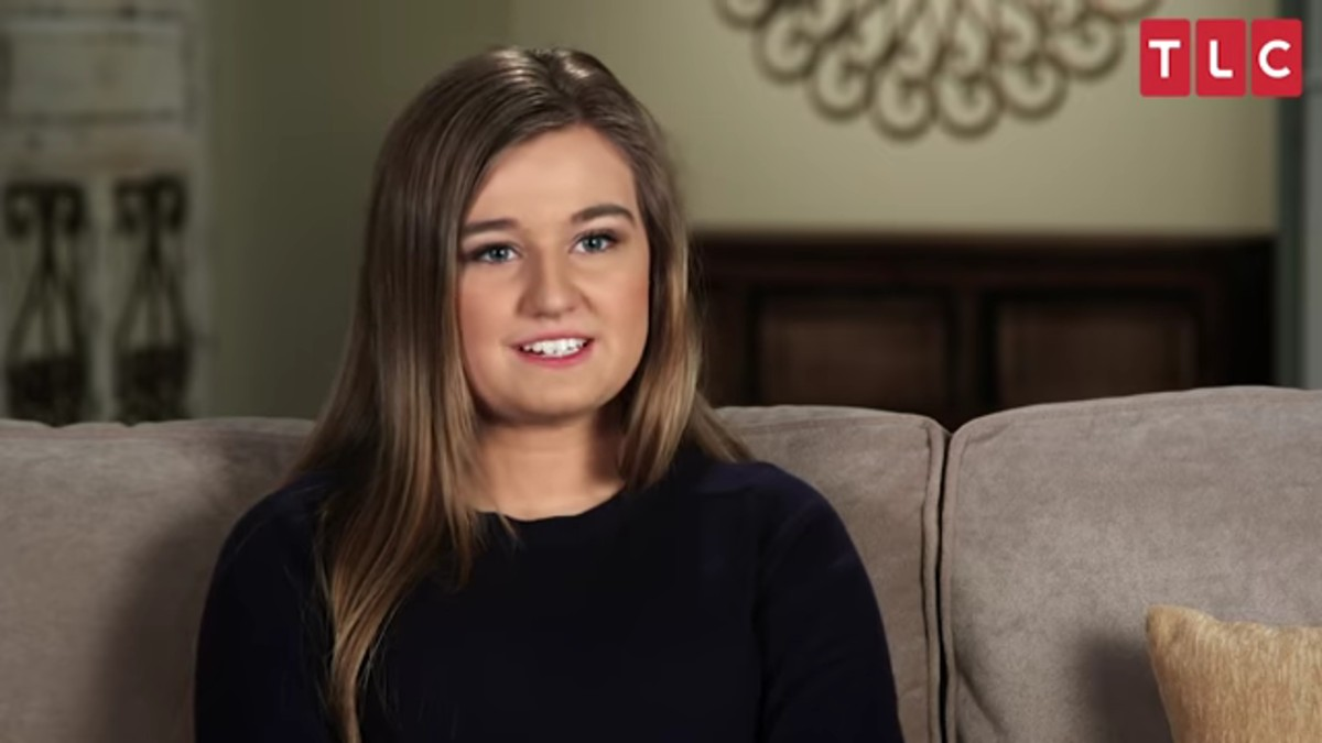 Kendra Caldwell in Counting On confessional.