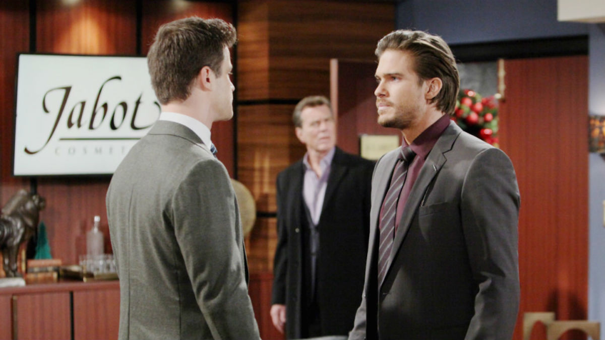 Family fighting breaks out all over Genoa City on the Young and the Restless.