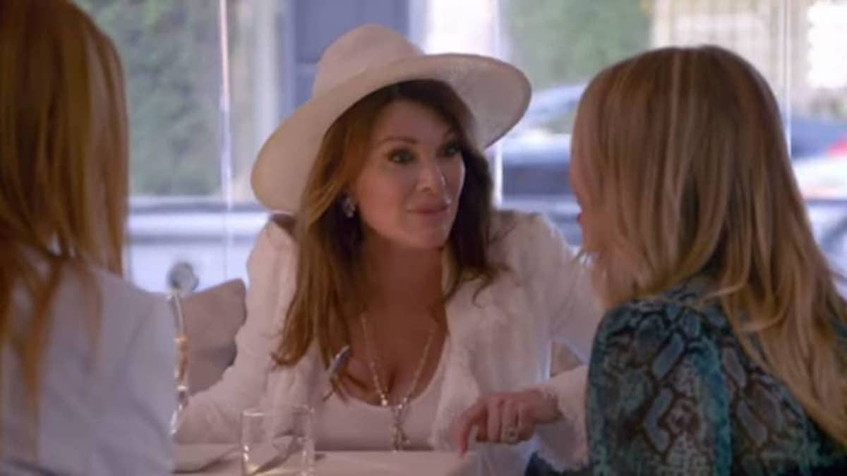 Lisa Vanderpump attends lunch