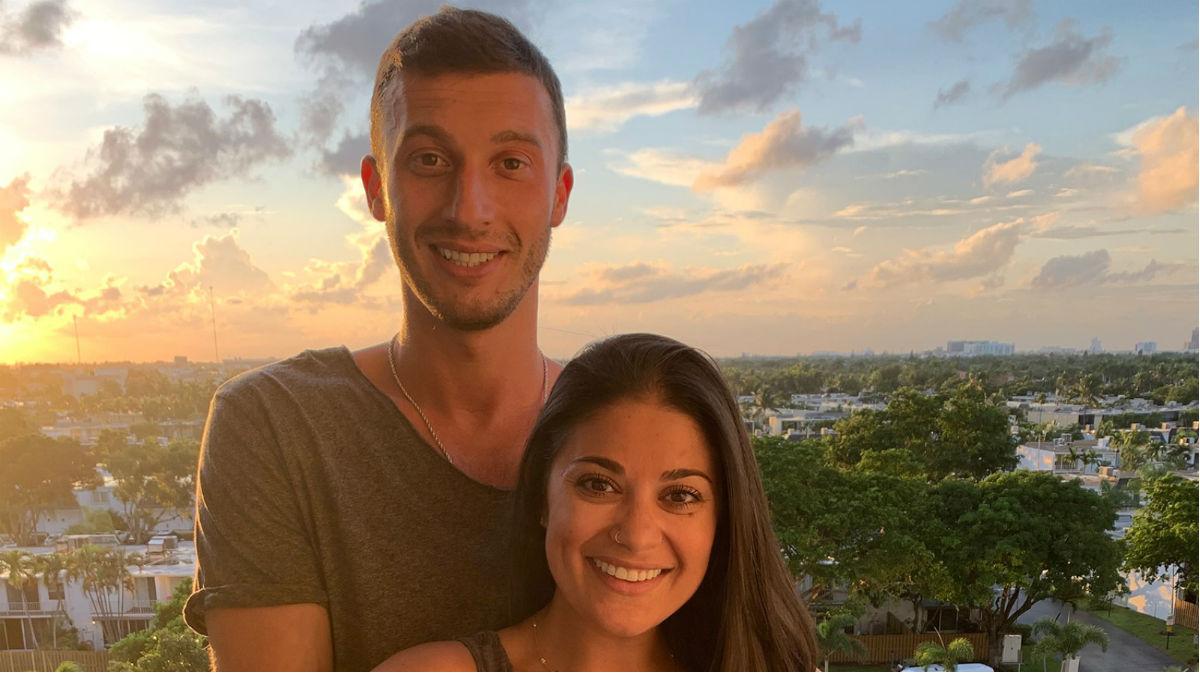 Alexei and Loren Brovarnik reveal the name of their son.