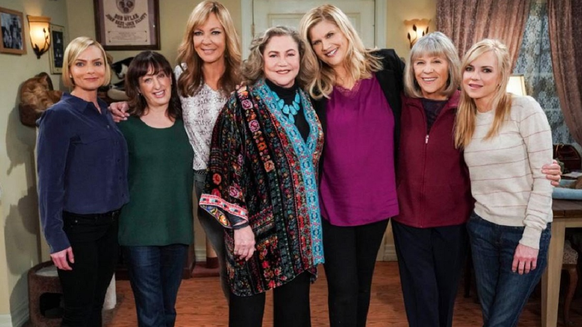 The sitcom Mom on CBS