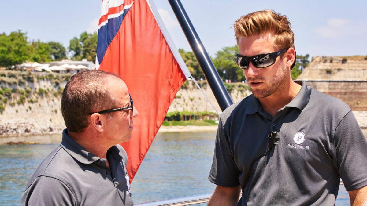 Captain Glenn hss harsh words for Parker on Below Deck Sailing Yacht.