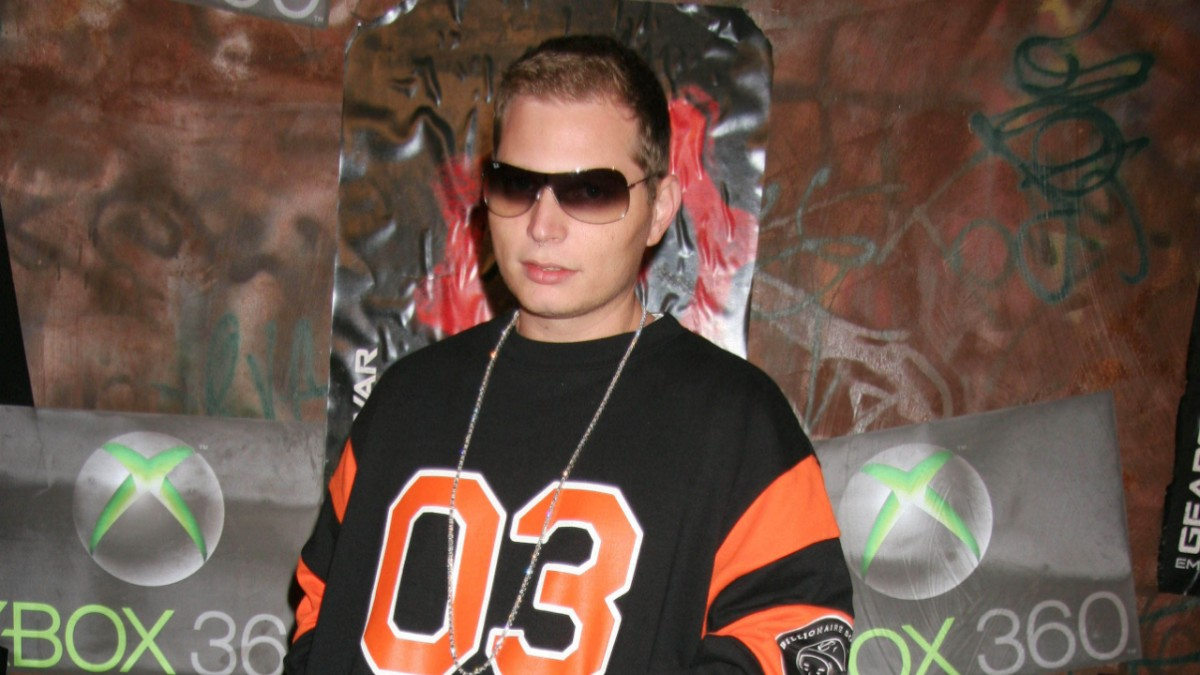 Scott Storch on the red carpet