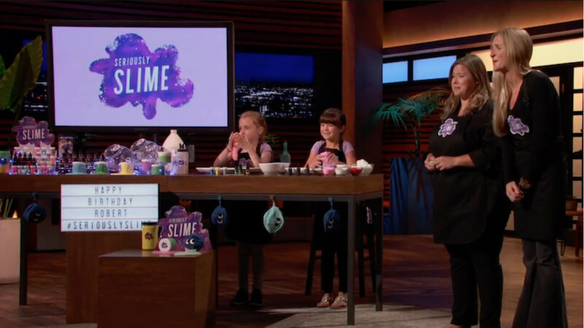 Seriously Slime is the latest product on shark Tank.