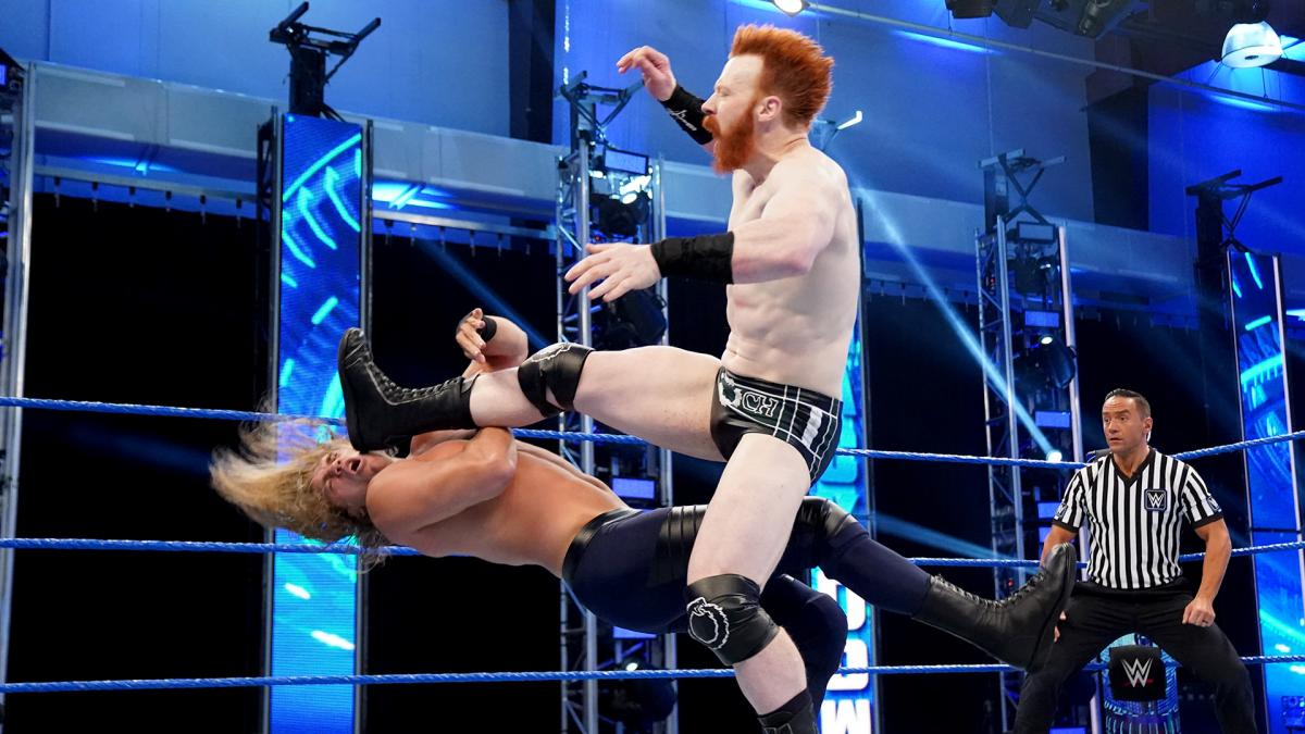Who is Cal Bloom, the wrestler who lost to Sheamus on WWE Friday Night SmackDown