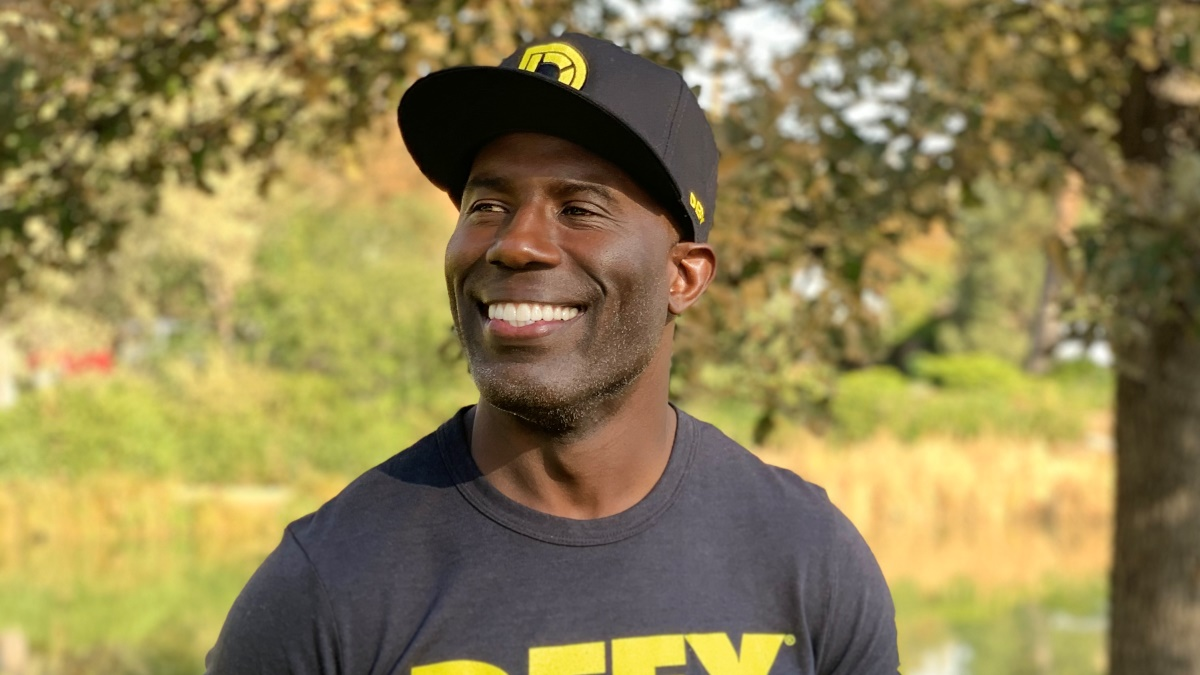 Terrell Davis, Super Bowl champ, gives exclusive interview about pandemic.