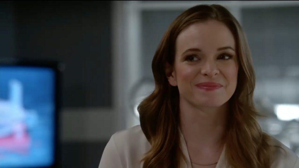 Danielle Panabaker as Caitlin Snow on The Flash