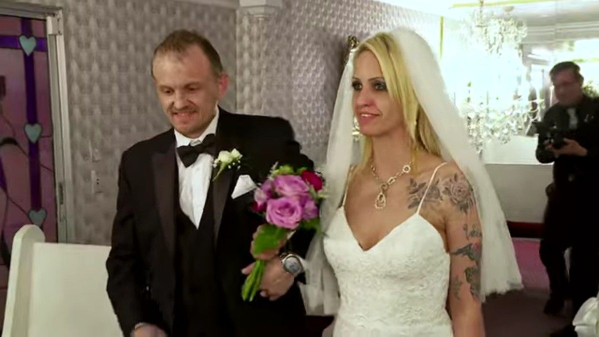 Tracie and Clint's wedding on Life After Lockup.