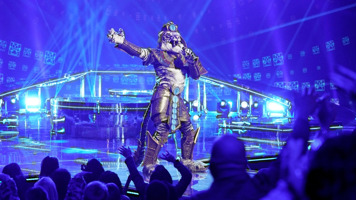 The Masked Singer Unmasks the White Tiger