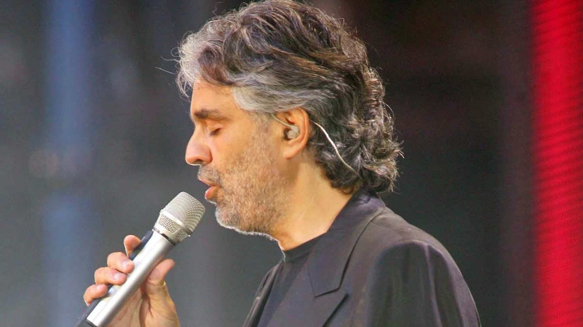 How to watch Andrea Bocelli