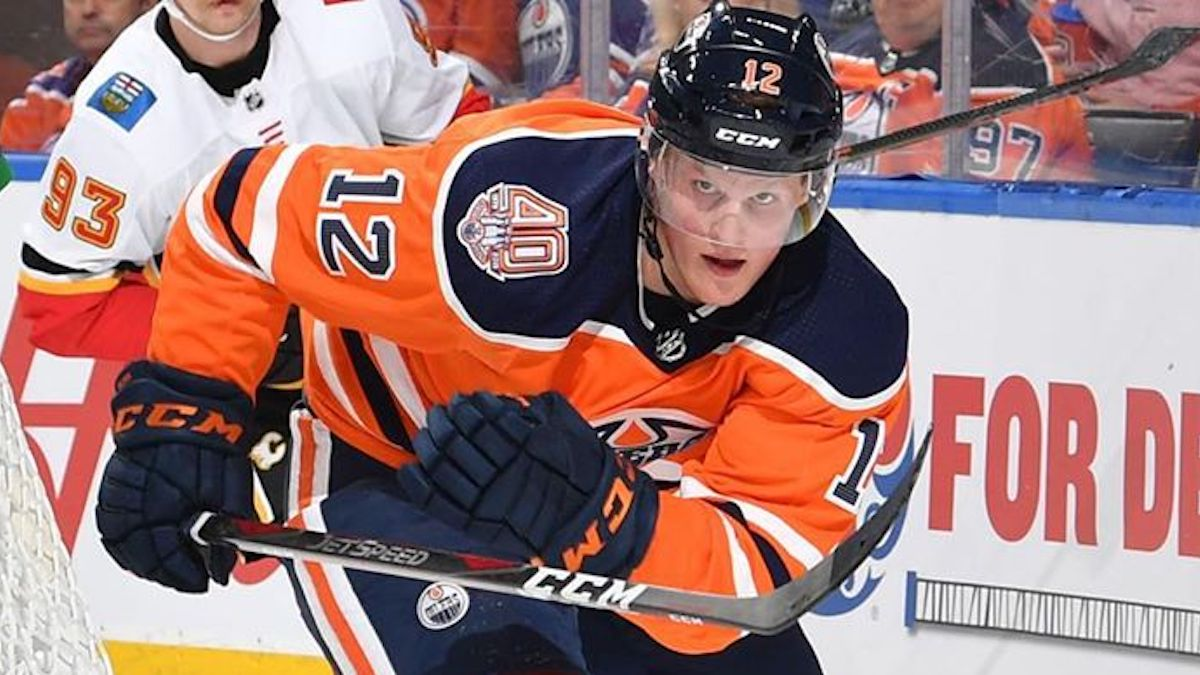colby cave on edmonton oilers