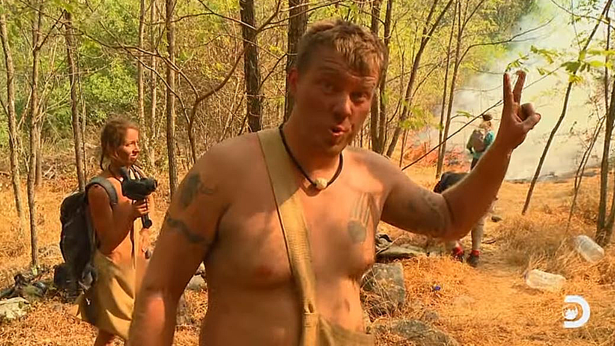 Naked And Afraid Exclusive Out Of Control Fire Threatens To Raze