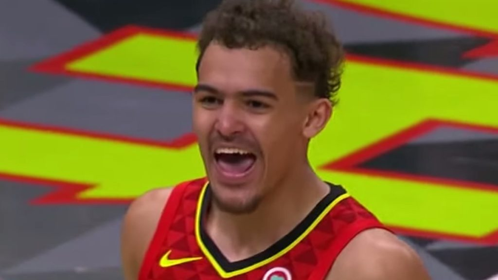 atlanta hawks star trae young