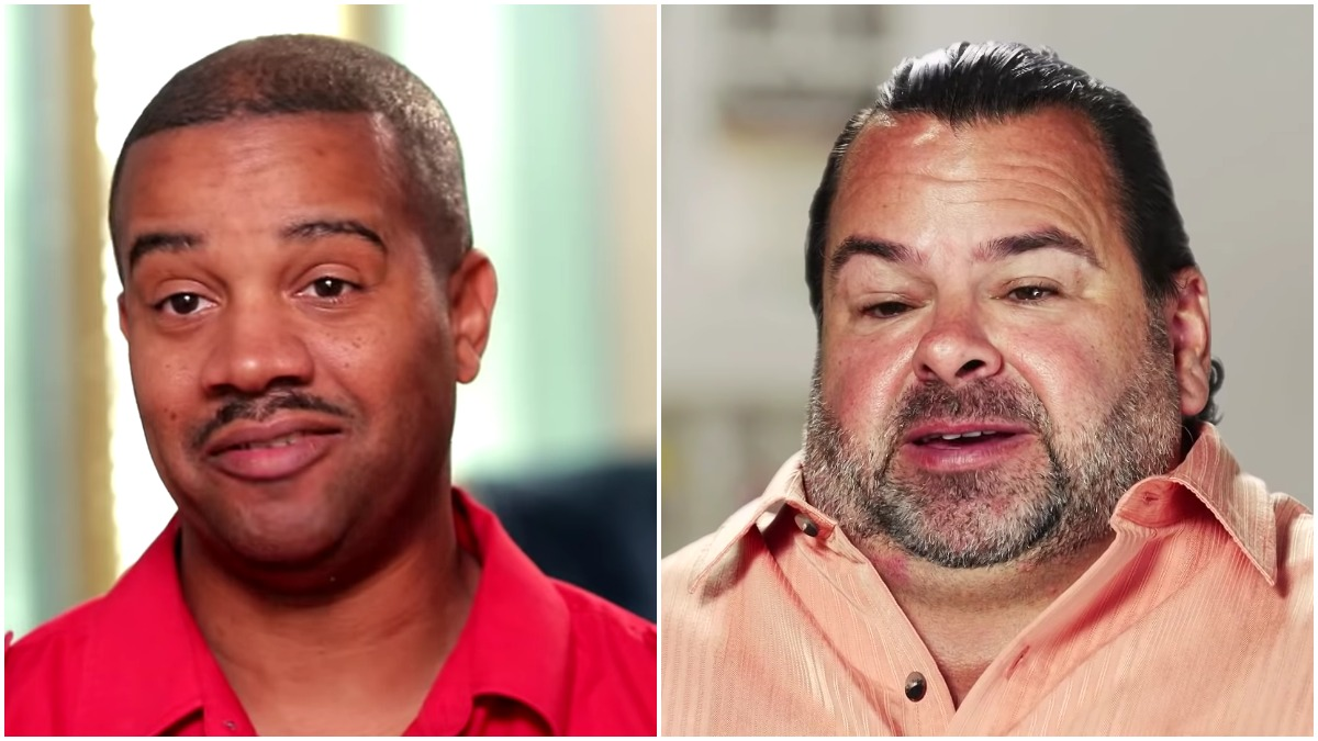 Tarik Myers and Big Ed from 90 Day Fiance Before the 90 Days