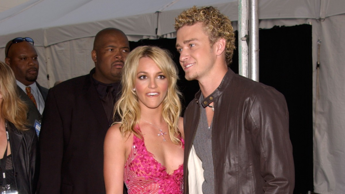 Britney Spears and Justin Timberlake on the red carpet