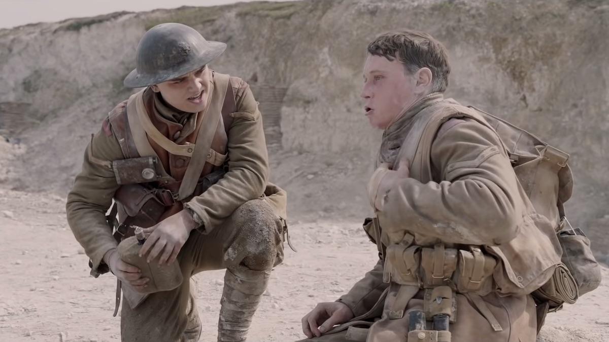 war movie 1917 trailer shot
