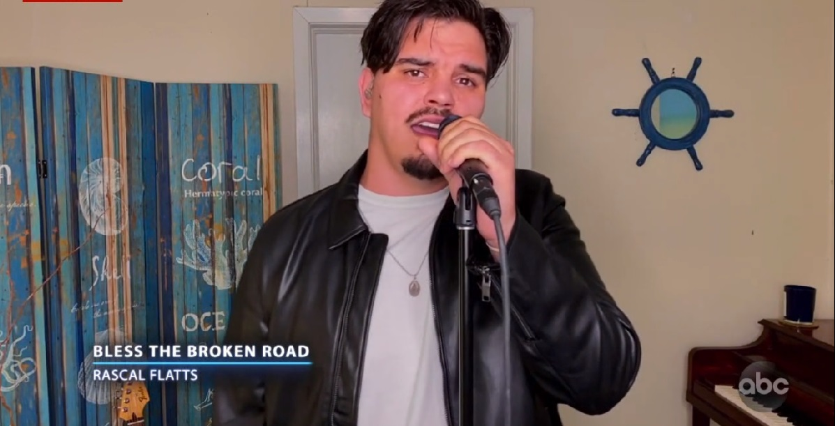 Doug Kiker singing