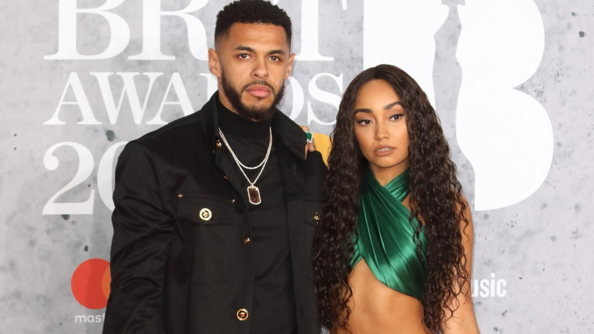 Andre Gray and Leigh Anne Pinnock
