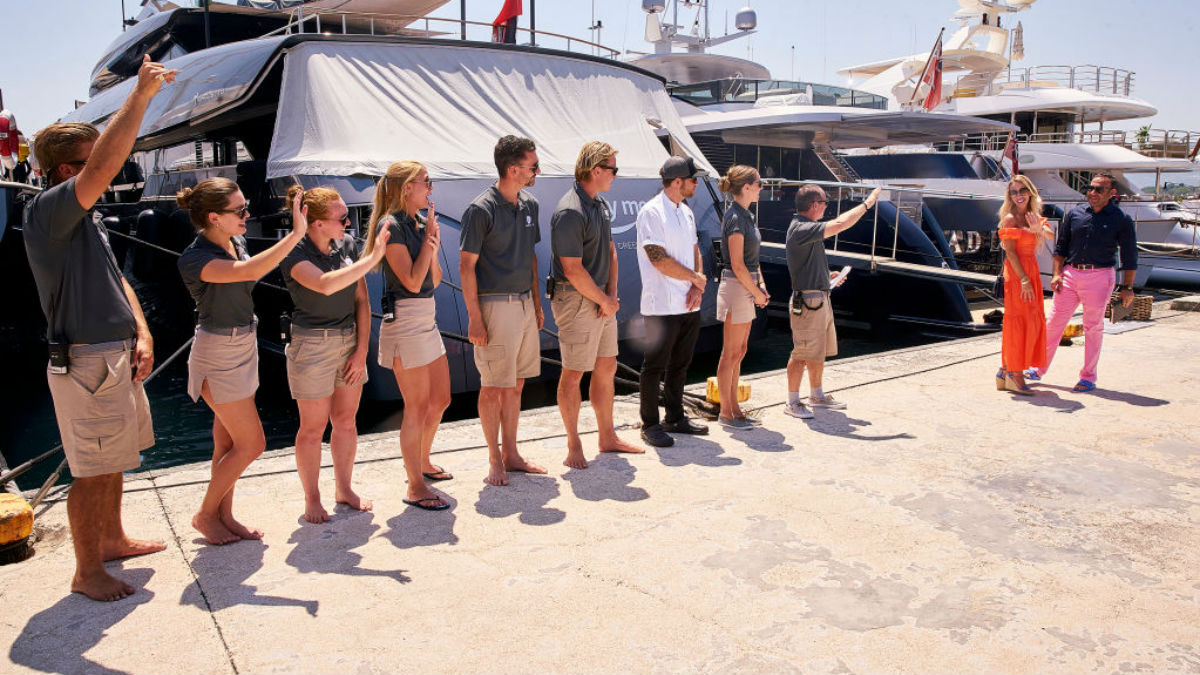 A Below Deck Sailing Yacht reunion is happening.
