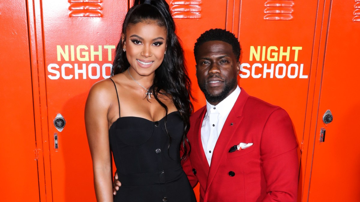 Eniko Parrish And Kevin Hart
