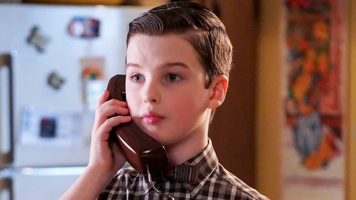 Iain Armitage on Young Sheldon