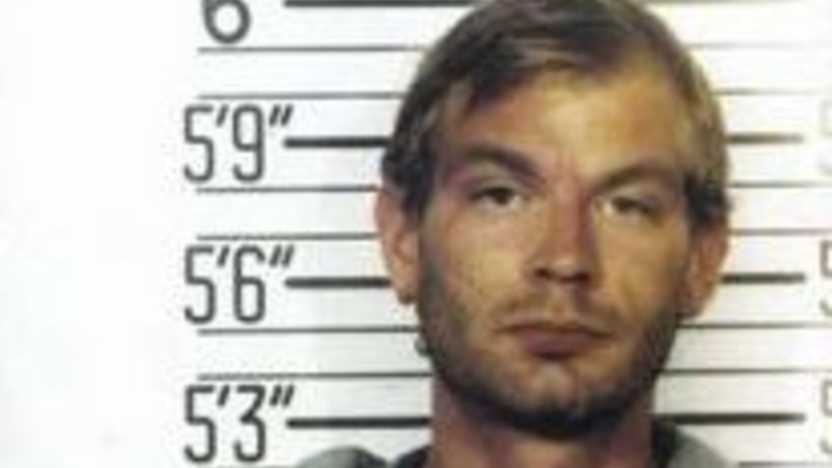 Mugshot of Jeffrey Dahmer