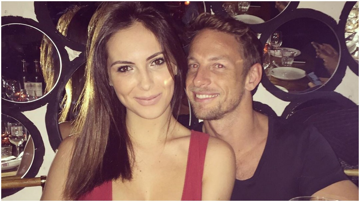 Brittny Ward and Jenson Button forced to postpone wedding for second time