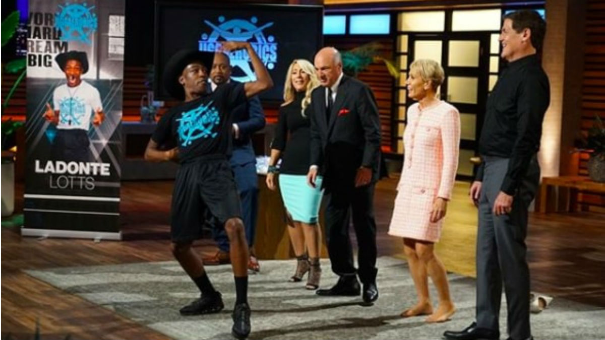 Jiggaerobics will be featured on shark Tank.