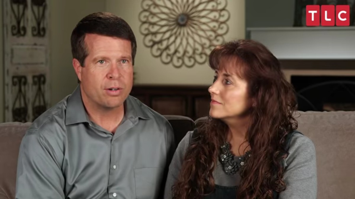 Jim Bob and Michelle Duggar in TLC confessional.