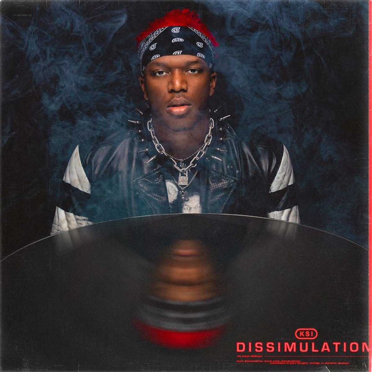 Cover art for KSI's album Dissimulation