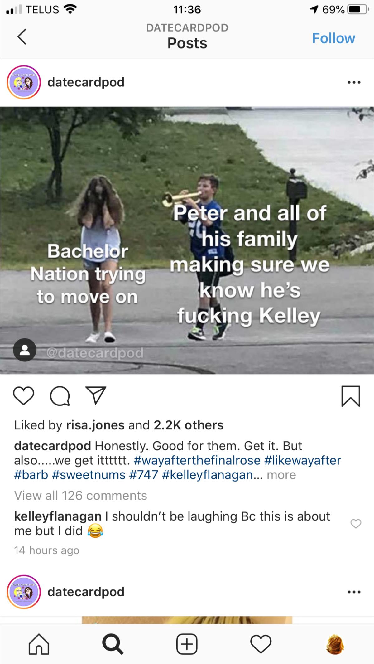 Kelley sex life