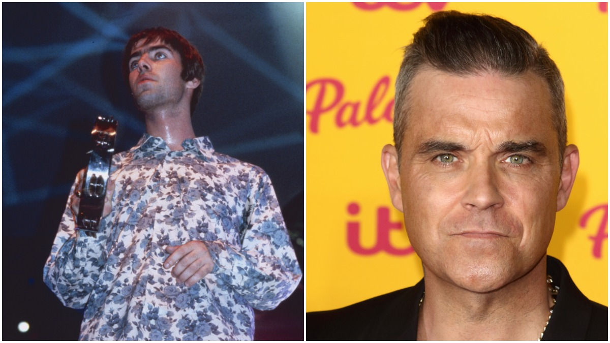 Lian Gallagher wants to end feud with Robbie Williams