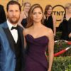 Matthew McConaughey and model wife Camila Alves